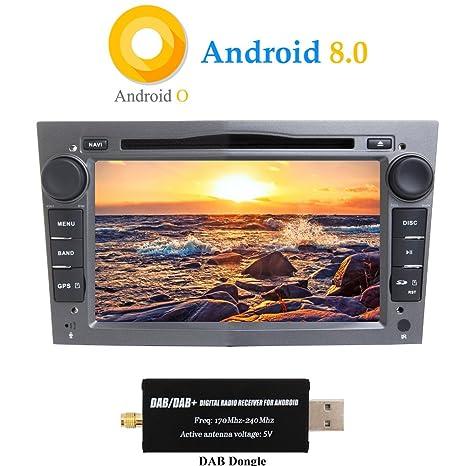XISEDO Android 8.0 Autoradio 2 DIN 7 Pulgadas Radio de Coche 8-Core RAM 4G
