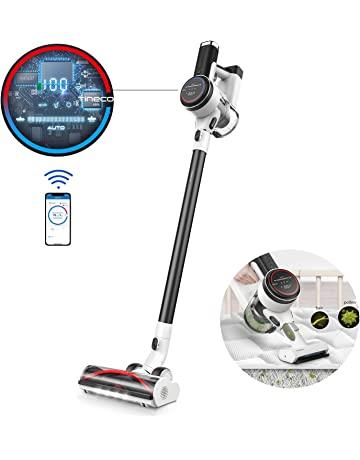 Tineco Cordless Vacuum Cleaner PURE ONE S12 Handheld Stick Vacuum Smart Suction, Digital Display Screen 500W Rating Power App Controls High Suction Power Carpet & Hard Floors