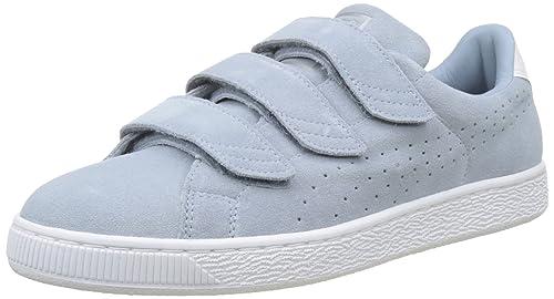 Puma Basket Classic Strap, Zapatillas Unisex Adulto, Beige/Blanco: Amazon.es: Zapatos y complementos