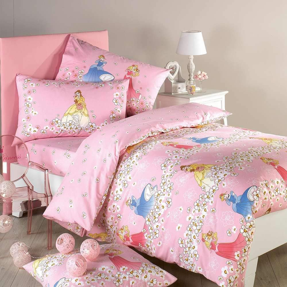 Princess Romantic Disney Caleffi Completo Copripiumino Singolo 100 Cotone Tessili Per La Casa Casa E Cucina Aaaid Org