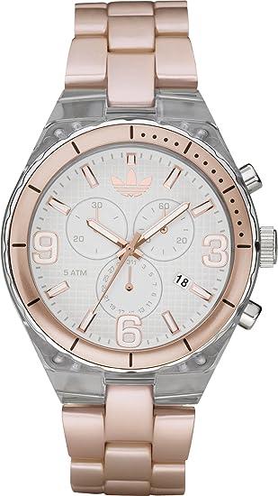 Adidas ADH2546 - Reloj para hombres, correa de plástico color beige: Adidas: Amazon.es: Relojes