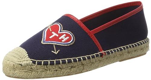 Tommy Hilfiger S1285unny 1d, Alpargatas para Mujer, Azul (Denim 404), 37 EU: Amazon.es: Zapatos y complementos