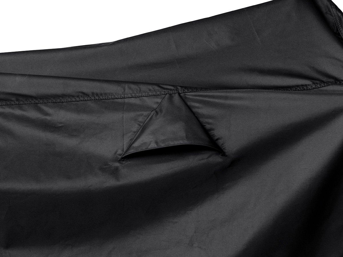 Nelson-Rigg Defender Extreme Motorcycle Cover Large Fits Most Sport Touring and Cruisers Nelson Rigg DEX-2000-03-LG Windshield Liner Fade Resistant Grommets Heat Shield Waterproof Compression Bag Air Vents All-Weather