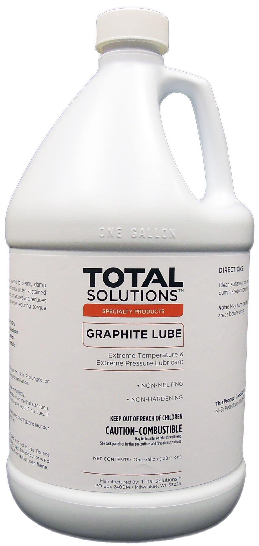 Graphite Lubricant, High-temperature dry lubricant - 4X1 Gallon Case