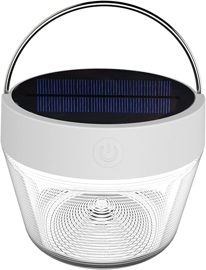 Details about  /3 in 1 Solar Camping Lamp USB Rechargeable Outdoor Tent Light Flame Lantern