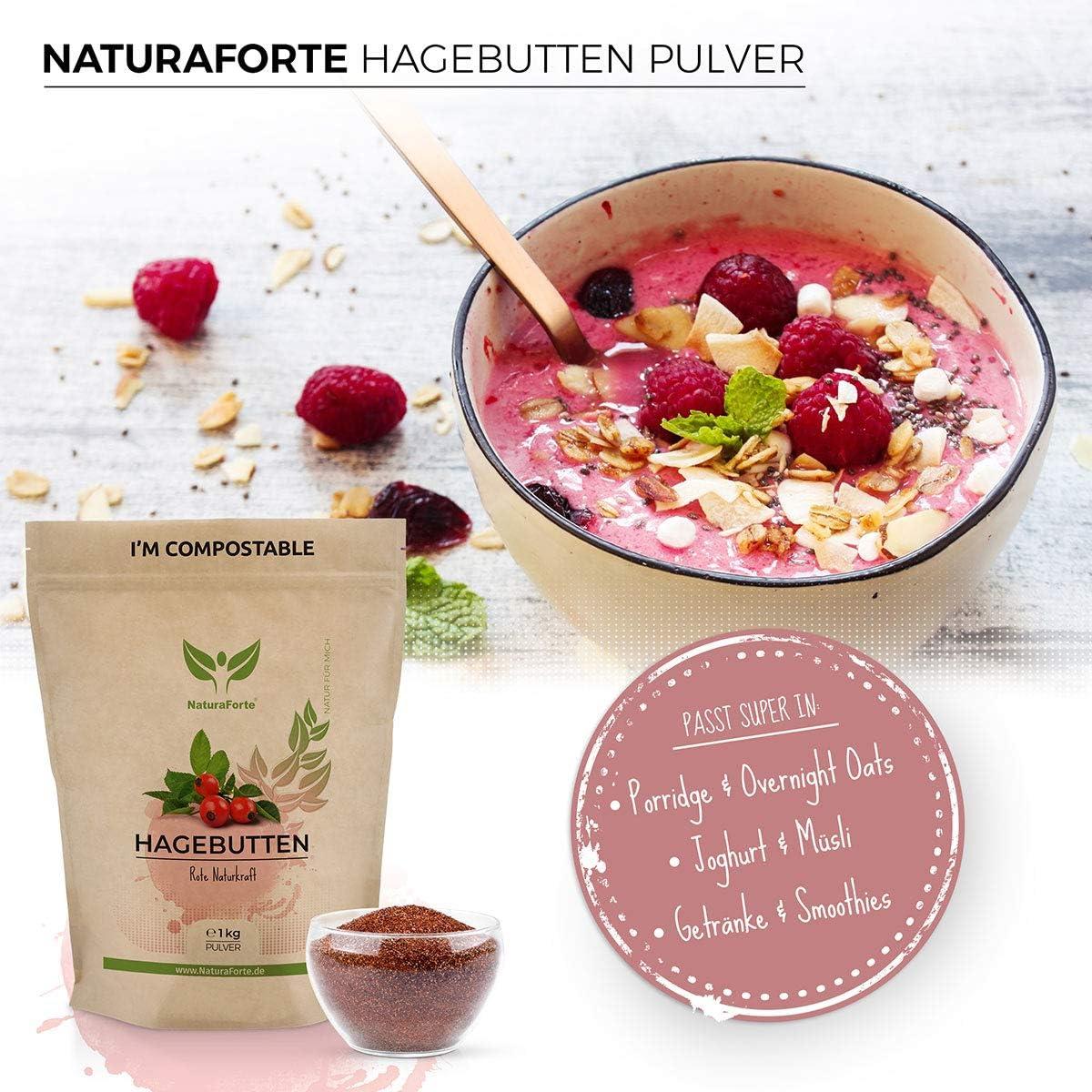NaturaForte Polvo de rosa mosqueta 1kg barato