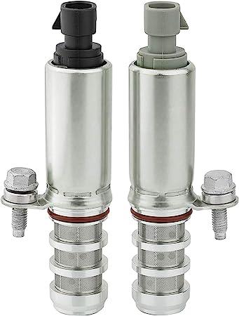 12655420 Intake /& Exhaust Camshaft Position Actuator Solenoid Valve Kitfor GM Chevy Cobalt Malibu HHR Equinox G5 G6 2.0L 2.2L 2.4L 12655421