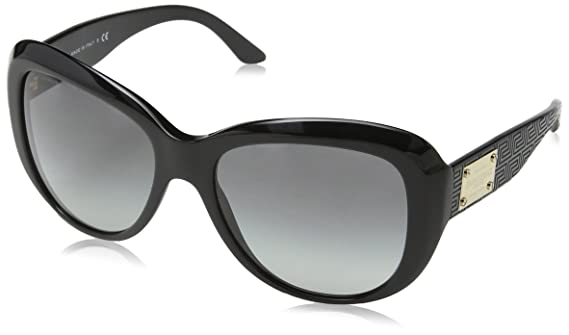 Versace Women's VE4285 GB1/11 Sunglasses, Black (Onyx GB1/11), One Size:  Amazon.co.uk: Clothing