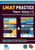 LNAT Practice Papers Volumes 1 and 2: 4 Full Mock Papers, 200 Questions in the style of the LNAT, Detailed Worked Solutions, Law National Aptitude Test, UniAdmissions