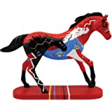 "Enesco Trail of Painted Ponies ""Happy Trails Brave Hearts"" Stone Resin Horse Figurine, 4.3"""