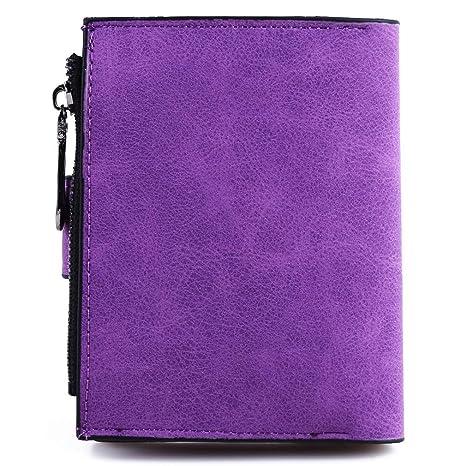 080f2a1b0b57 Amazon.com: GUAngqi Women Short Purse Faux Leather Wallet Leaf Card ...