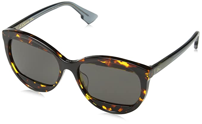 Dior DIORMANIA2 IR TV9 Gafas de sol, Marrón Petrol BW Black ...