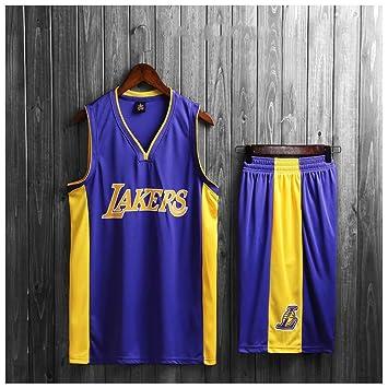 info for a2b2b d0aba Amazon.com: Basketball Jersey for Boys, Lakers Kyle Kuzma ...