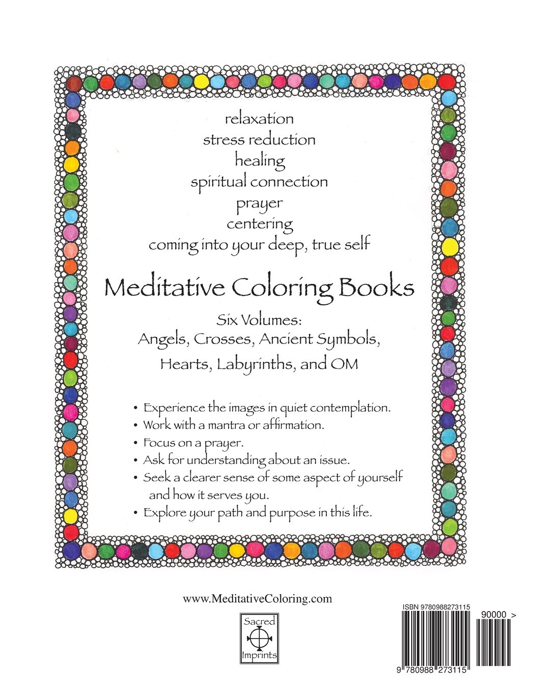 amazon com om meditative coloring book coloring for