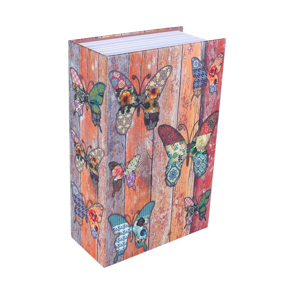Cassetta di sicurezza, Haofy libro del libro Nascosto libro di diversione sicuro con combinazione(玫瑰日记款)
