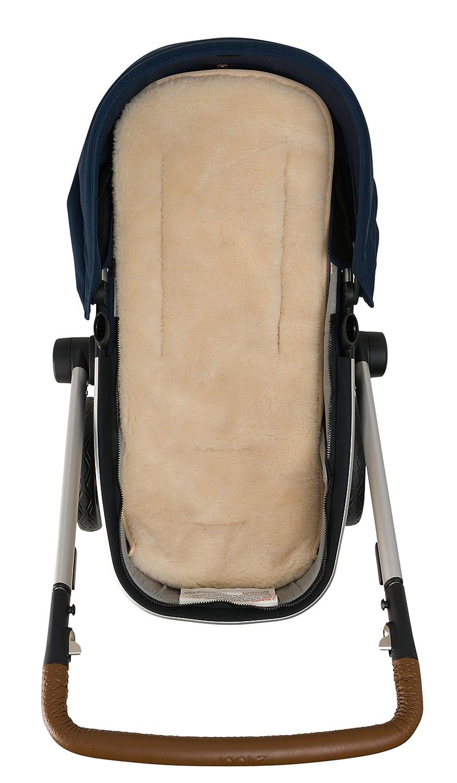 Nuvita 9301 Lammfell Einlage Universelle Lammfell Einlage Autositz Kinderwagen Kompatibel 76cm X 37cm Leichtgewichtig Umweltverträglich Wärmeisolierend Hält Babys Warm Beige Baby