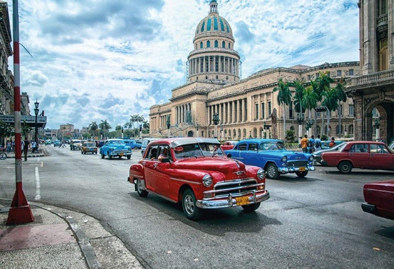 FS Auto Oldtimer Cuba Havanna Blechschild Schild gew/ölbt Metal Sign 20 x 30 cm