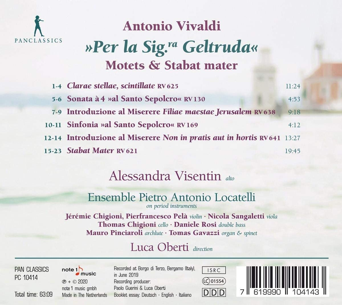Motets & Stabat Mater: Vivaldi/ Visentin/ Oberti, Vivaldi ...