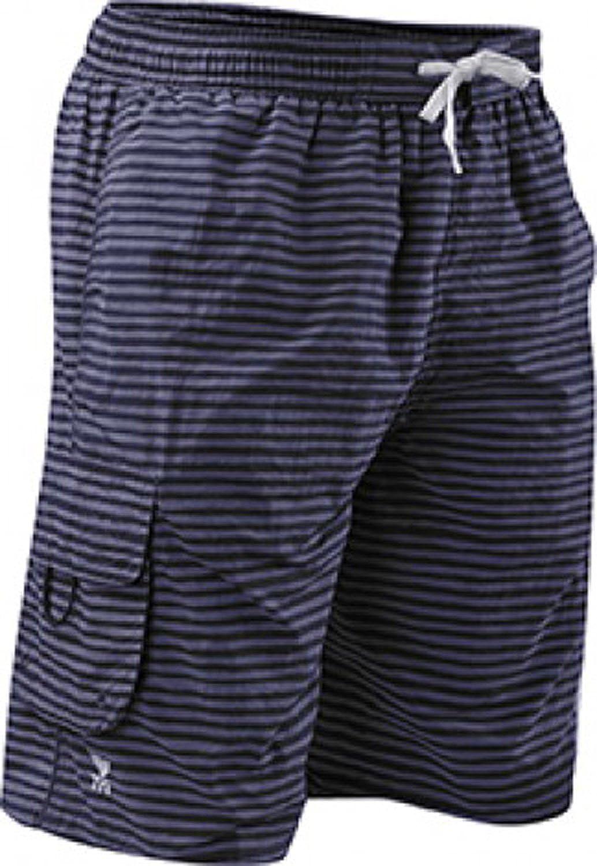 TYR Men's Micro Stripe Challenger Swim Short