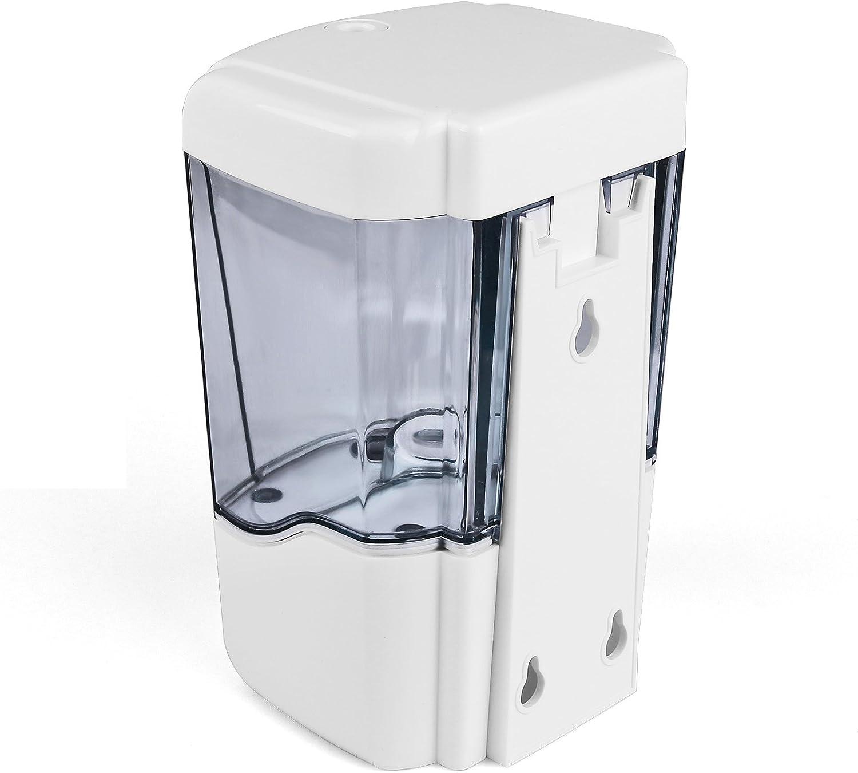 Sin Manos Sin Contacto para la Cocina Ba/ño Comercial P/úblico Sunsbell Autom/ático Dispensador de jab/ón Montado en la Pared 700 ML