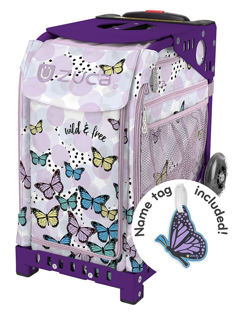 Zuca ''Wild And Free'' Sport Insert Bag with Matching Nametag
