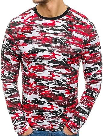 Yvelands Liquidación de Camisas para Hombres, Camiseta Militar de Manga Larga para Asalto rápido, Ajustada, para Hombres: Amazon.es: Ropa y accesorios