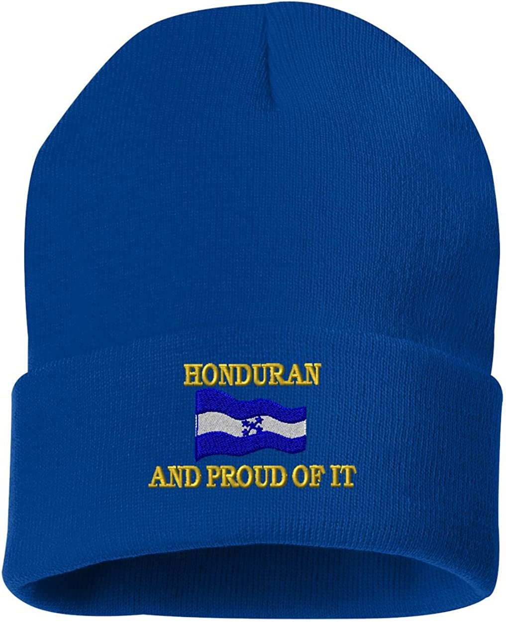 HONDURAN AND PROUD OF IT Custom Personalized Embroidery Embroidered Beanie