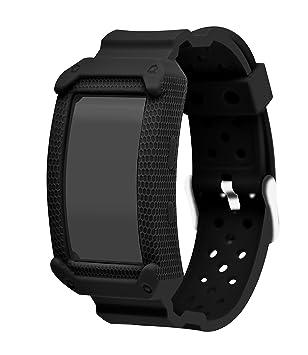 Gear Fit 2 pulsera - Pulsera deportiva de silicona Sport ...