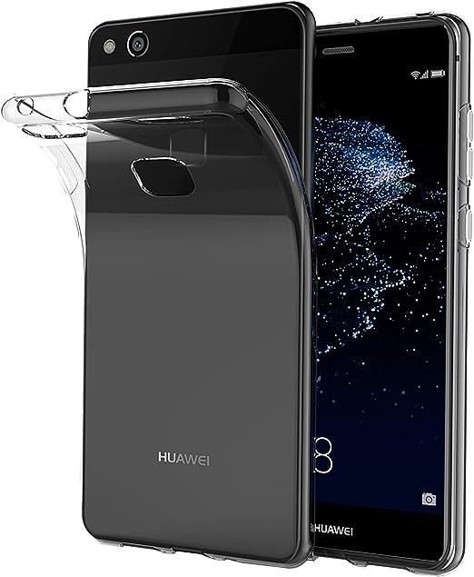 LUCKLYSTAR® Carcasa para Huawei P9 Lite Slim Transparente TPU ...