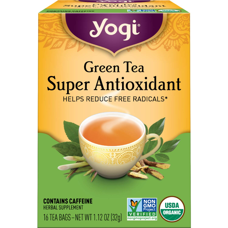 Yogi Tea - Green Tea Super Antioxidant - 4 Pack, 64 Tea Bags