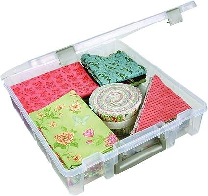 Amazon Com Artbin 6955ab Super Satchel 1 Compartment Box Clear