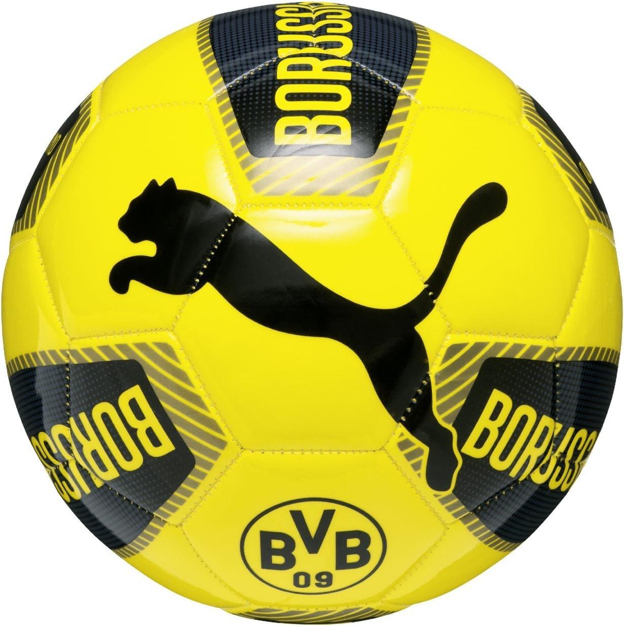 Puma BVB de Mujer, Negro/Color/Cyber Yellow, 4, 082534 01: Amazon ...
