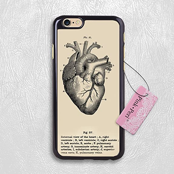 Amazon Iphone 7 Case Pink Peritrade Anatomy Heart Images