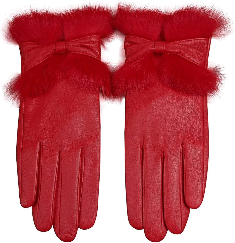 Women's Winter Warm Genuine...