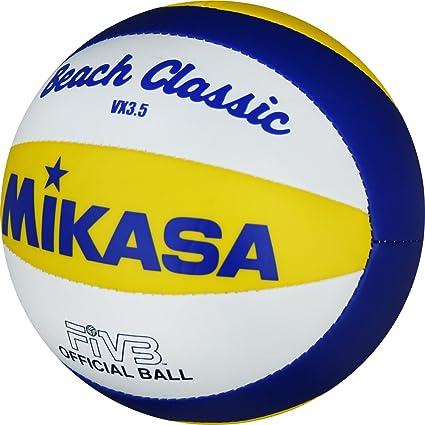 Mikasa VX 3,5 - Pelota pequeña de Volley Playa (15 cm), Color Azul ...
