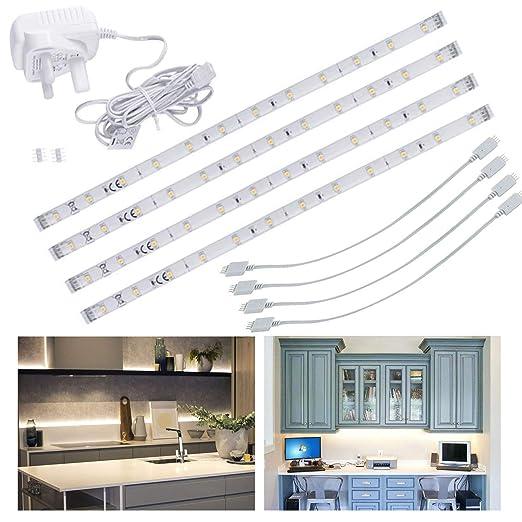 Led Under Kitchen Cupboard Cabinet Strip Lights Linkable