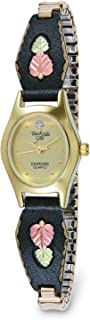 product image for Oval Champagne Face Women's Black Hills Watch