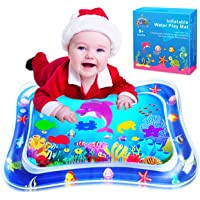 ZMLM Baby Tummy-Time Water Mat: Infant Toy Gift Activity Play Mat Inflatable Sensory Playmat Babies Belly Time Pat…