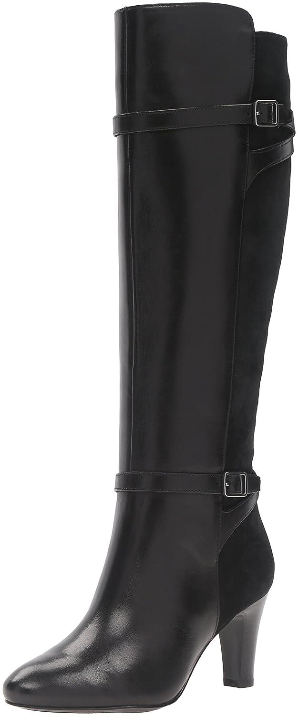 Lauren Ralph Lauren Women's Sabeen-Bo-DRS Boot B01F4R3622 9.5 B(M) US|Black Suede