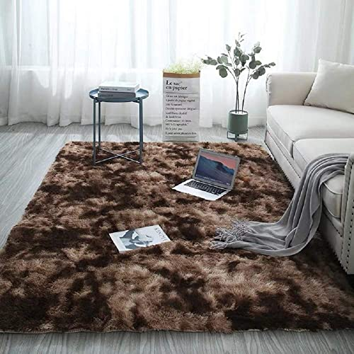 Fuzzy Abstract Area Rug