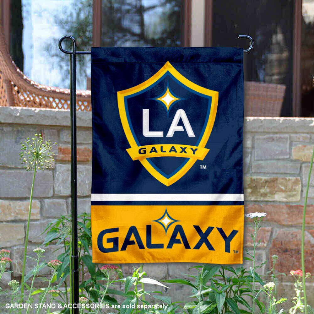 WinCraft Los Angeles Galaxy Double Sided Garden Flag