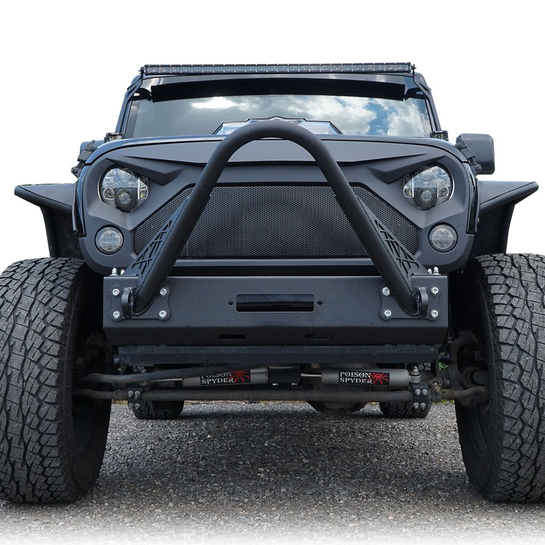 Custom Jeep Wrangler >> Amazon Com Genssi Aftermarket Abs Custom Grill Big Mouth For Jeep