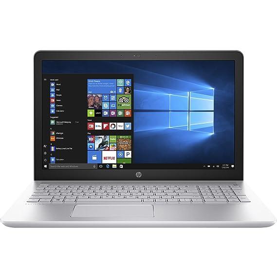 HP Pavilion 15-inch Laptop, Intel Core i5-7200U, 8GB RAM, 1TB hard drive, Windows 10 (15-cc010nr, Silver)