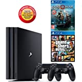 SONY PS4 PRO 1TB EURASİA KONSOL + 2. KOL + PS4 GTA 5 + GOD OF WAR