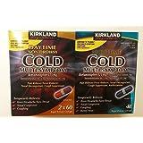 Kirkland Signature Day (2x60ct)/Night Time (48ct) Cold Multi-symptom, Rapid Release Gelcaps