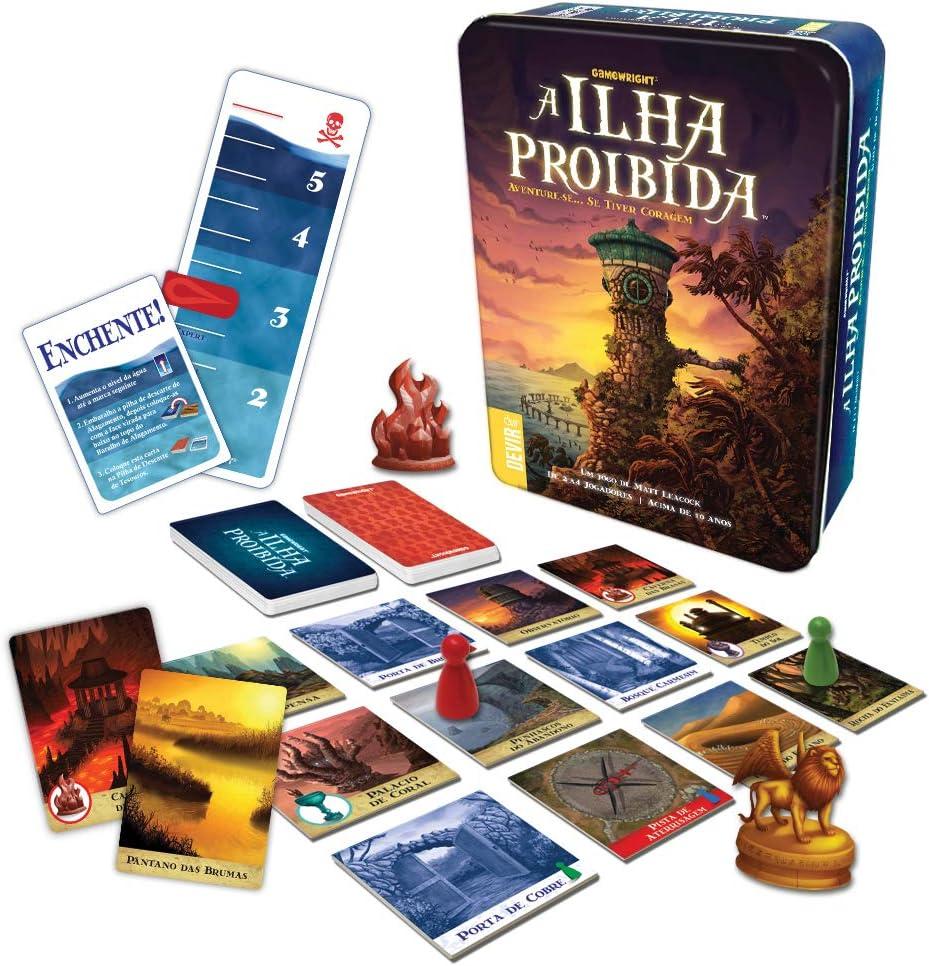 Devir-A Ilha Proibida Juego de Mesa, versión Portuguesa, Multicolor (BGISLAPT): Amazon.es: Juguetes y juegos