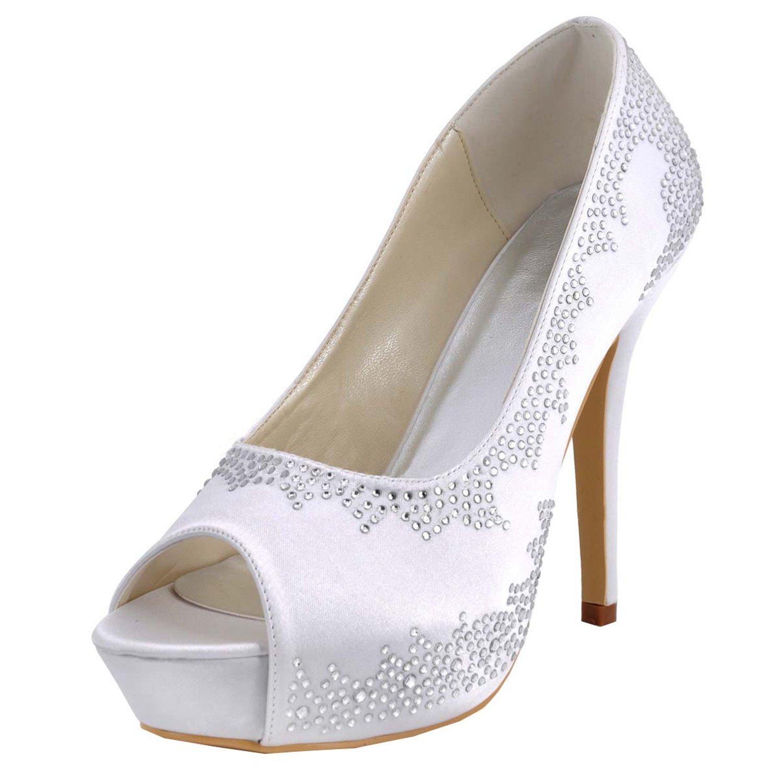 Kevin Fashion , Damen Hochzeitsschuhe , Weiß - Weiß - - - Weiß - Größe  43 EU f82b60