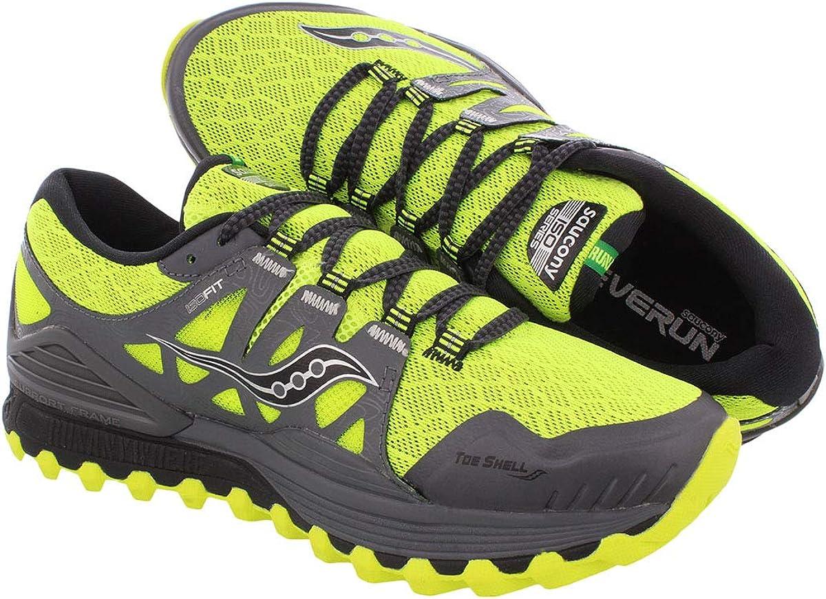 Amazon Com Saucony Men S Xodus Iso Trail Runner Trail Running