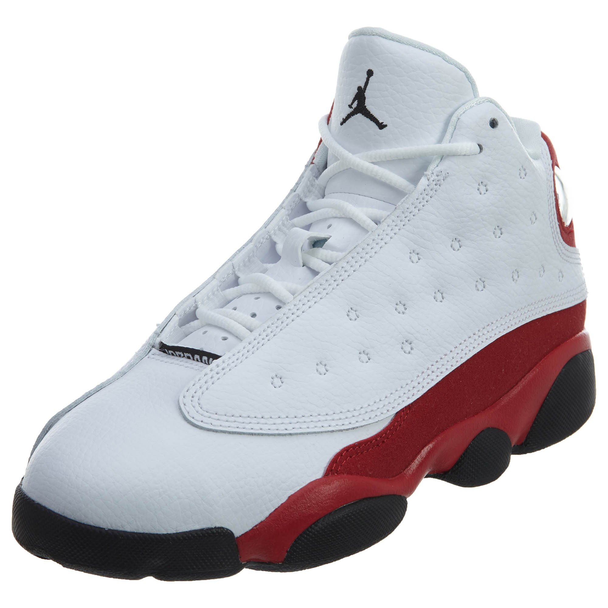 Jordan 13 RETRO BP BOYS PRE SCHOOL fashion-sneakers 414575-122_2.5Y - WHITE/BLACK-TRUE RED-COOL GREY by NIKE