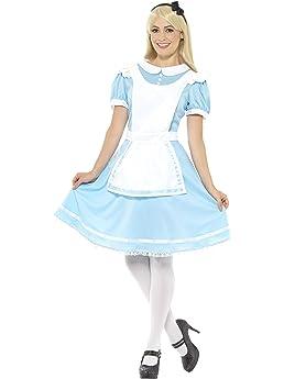 Fairytale Kit Ladies Fancy Dress Wonderland World Book Day Adults Womens Wig Set